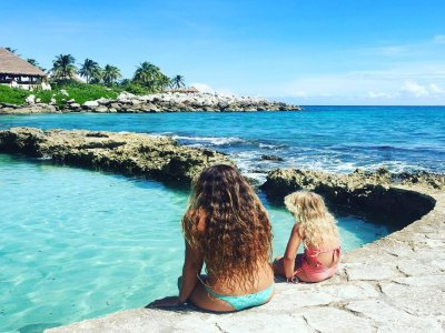 Access to Xcaret with transport price Children