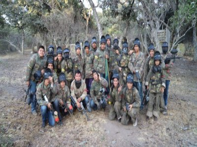 Paintball in Jalisco with 200 paintballs