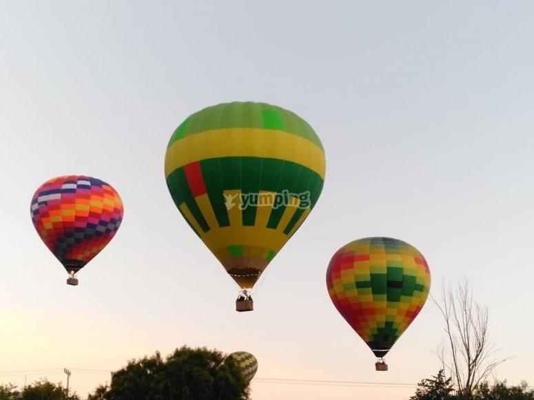 Balloon flights in Guanajuato