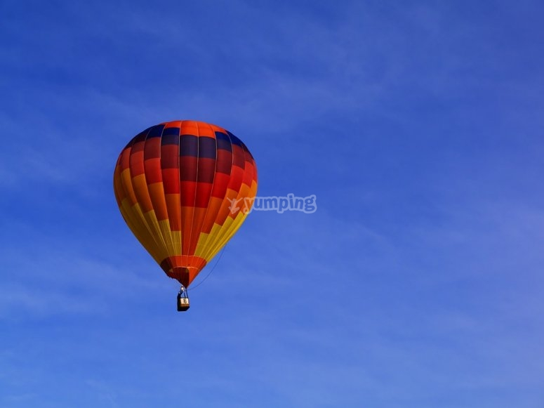 Balloon flight in San Miguel