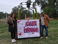 Hot Air Balloon Ride for Marriage Proposal