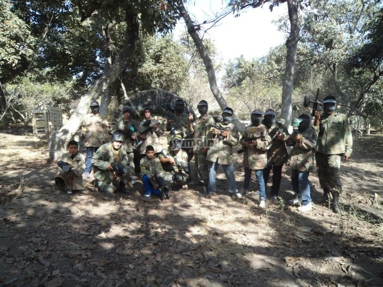 Paintball in Jalisco