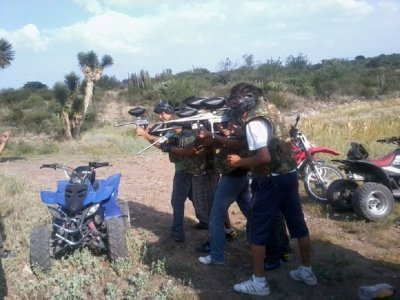Paintball in Tecozautla+ 300 capsules for 3
