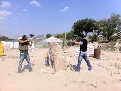 Paintball in Tecozautla for 4
