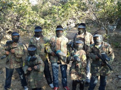 Paintball in Jalisco, 300 paintballs ammunition