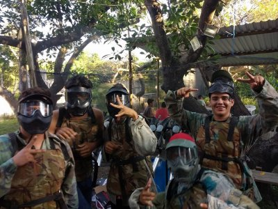 Paintball match at Jalisco for 8 people