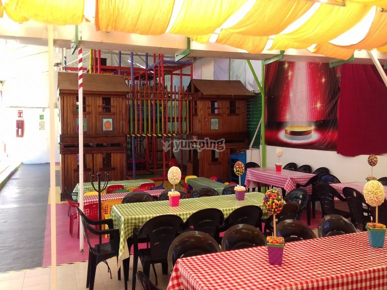 Party hall for kids