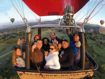 Hot Air Balloon Ride in Teotihuacan