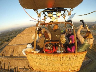 1h balloon ride in Teotihuacan + photos