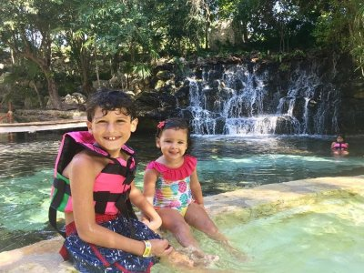 General admission to Xcaret and Kids snorkel tour