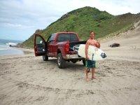 `Transporte para tour de surf