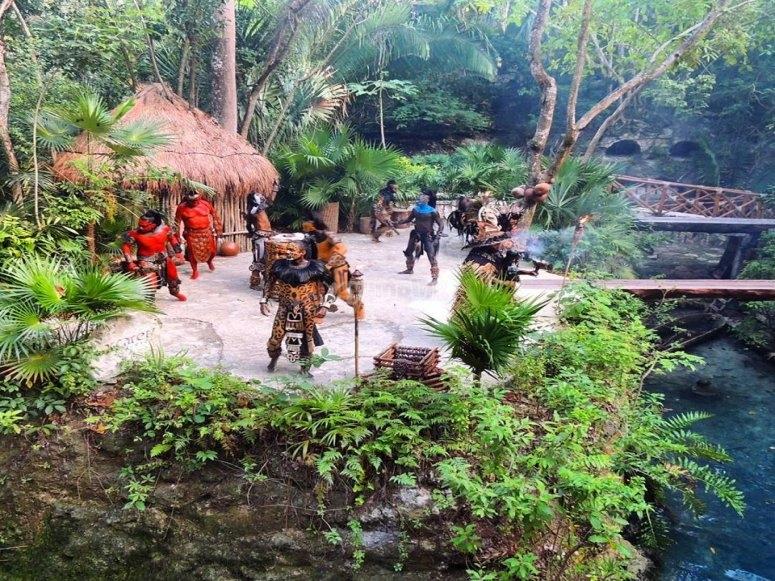 Prehispanic show