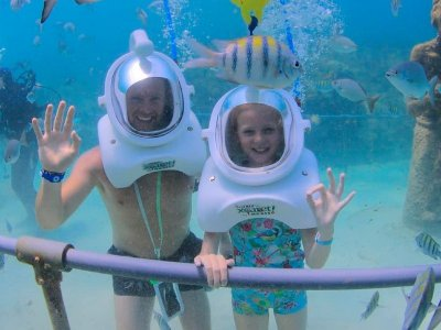 Access to Xcaret, Buffet and SeaTrek Niño experience