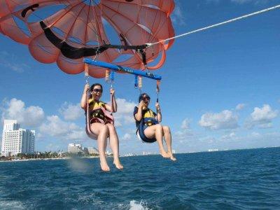 Adventure Bay Cancun Parasailing