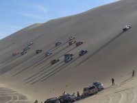 Challenges at the sand dunes