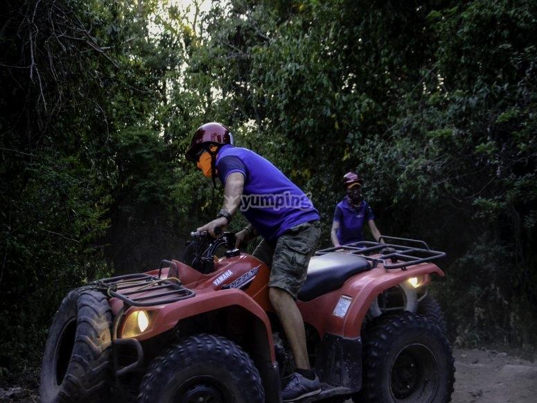 Recorrido en la selva maya