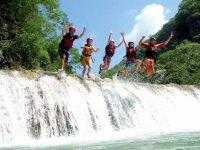Adrenaline rush while jumping