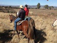 Horseback riding through San Miguel de Allende