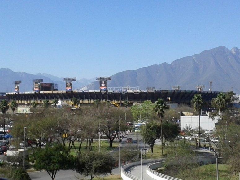 University Stadium seen from outside