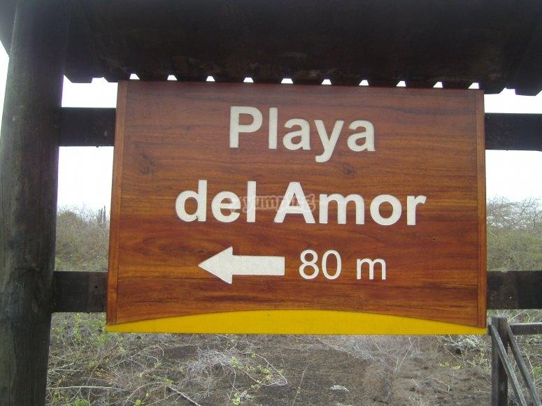 The great Playa del Amor