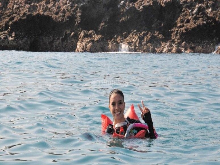 Actividades acuaticas en islas marietas