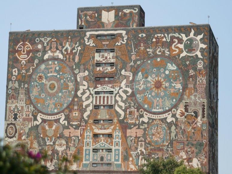 The university wall