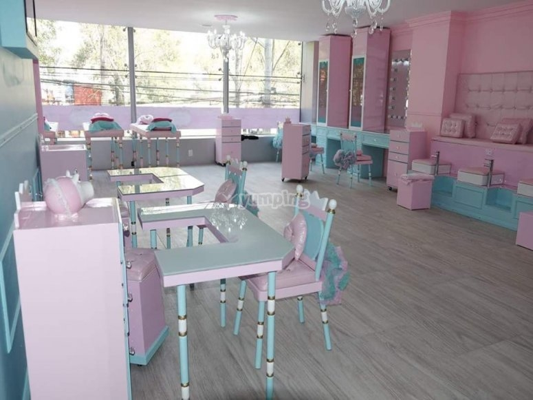 Salon infantil para princesas