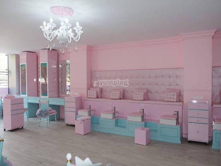 Zona de bienestar para princesas