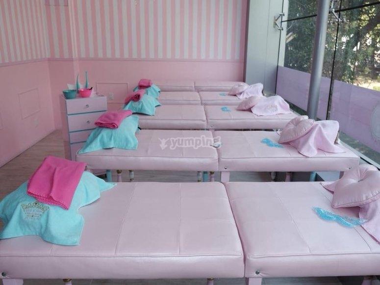 Massage zone