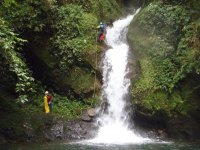 Basic canyoning in Cueztalan