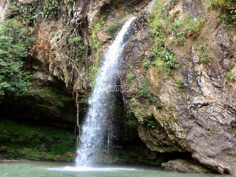 Canyoning through the waterfalls of Cuetzalan