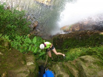 Canyoning Advanced Level in Cuetzalan.