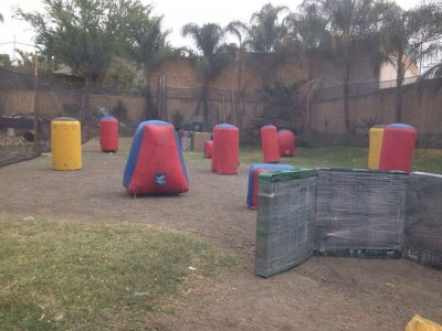 Paintball in Zapopan, 200 Paintballs per Person