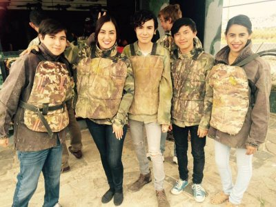 Paintball match in Zapopan