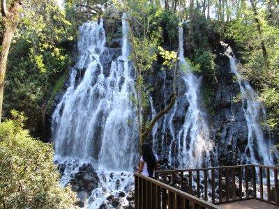 Caminata a cascada Velo de Novia en Valle de Bravo