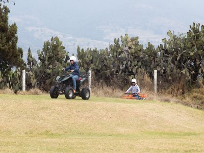30 min ATV tour in Tlaxcala