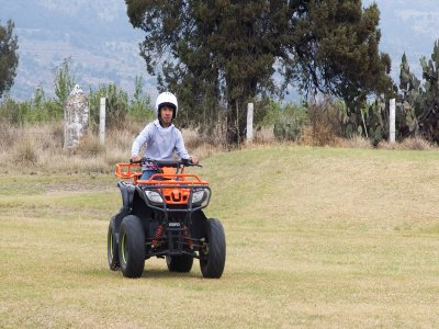 Drive quads in Tlaxcala for 1 hour