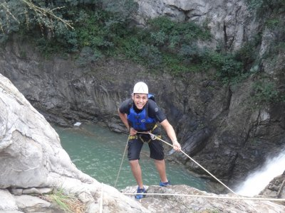8-10h canyoning in Matacanes, Nuevo Leon