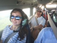 Light aircraft flight to Chichen Itza from Cancun