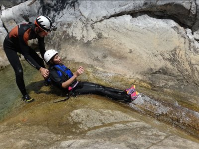 Canyoning in Chipitin, Nuevo Leon