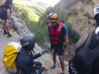 Rappelling instruction