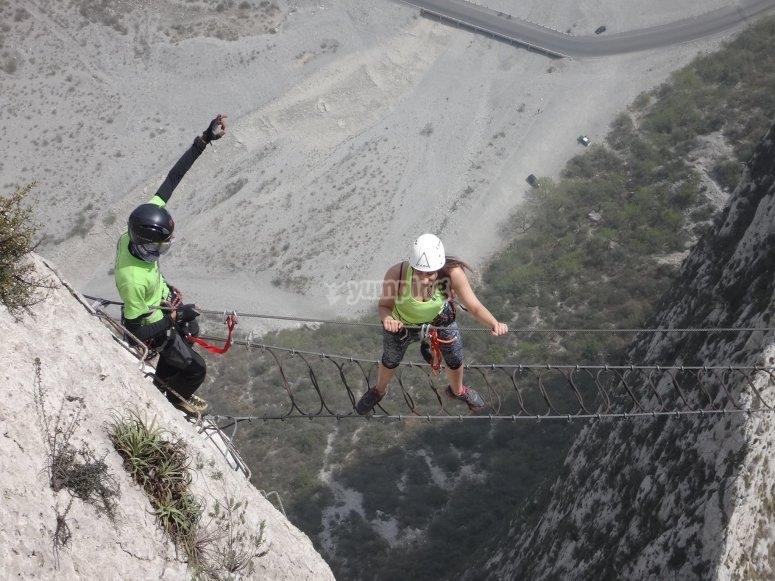 Via Ferrata in Monterrey