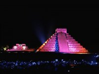 Espectaculo en Chichen Itza