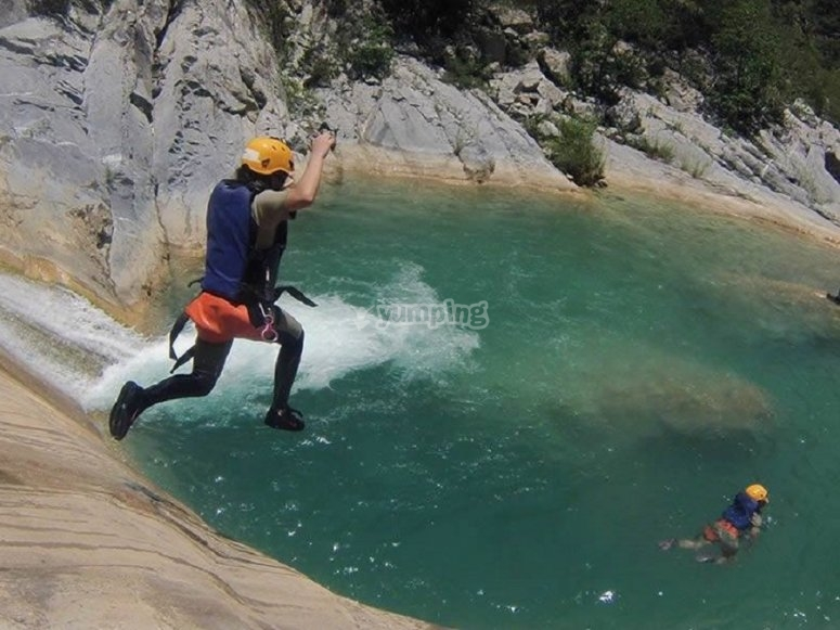 Canyoning in Nuevo Leon