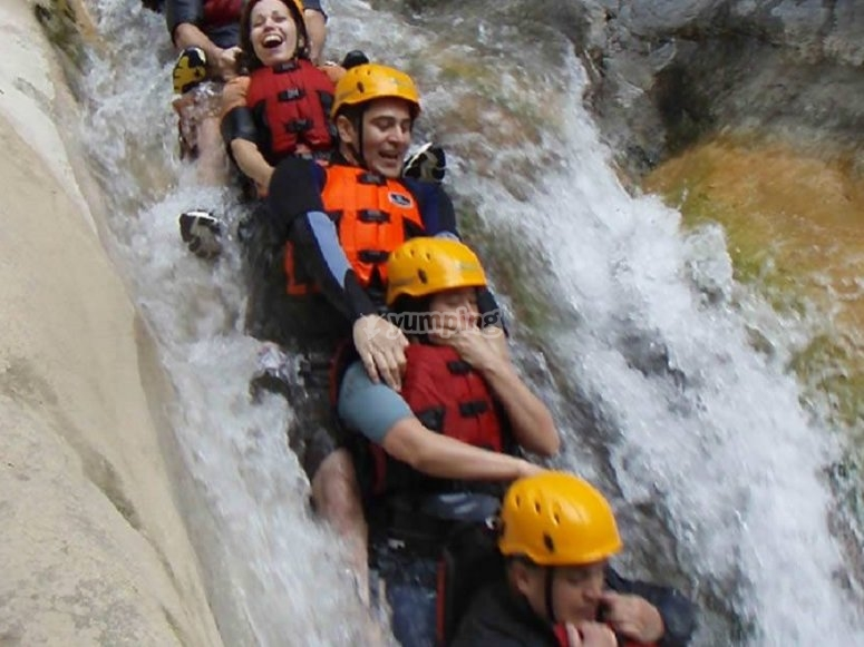 Canyoning in Chipilin