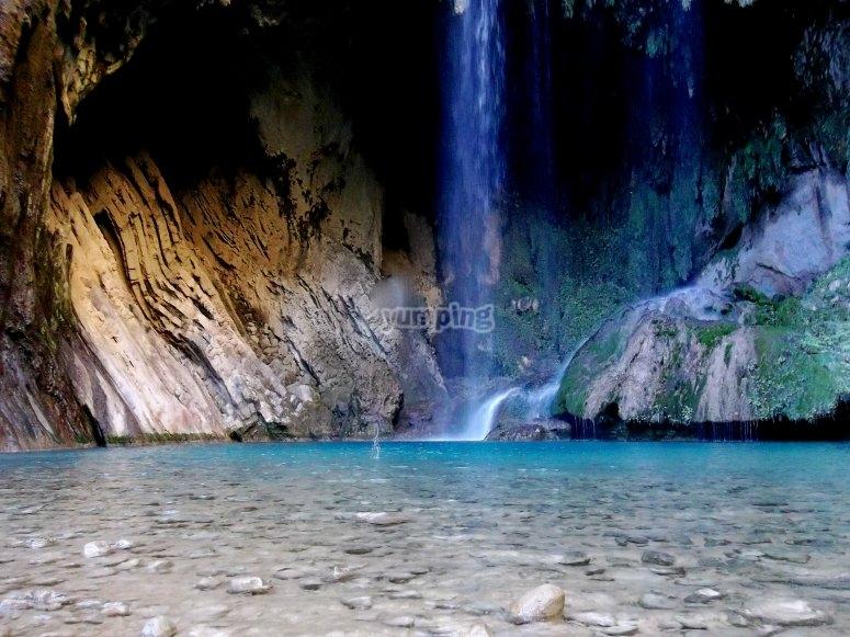 Chipiin waterfalls