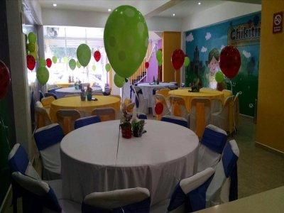Fiesta de graduación infantil Ecatepec con comida