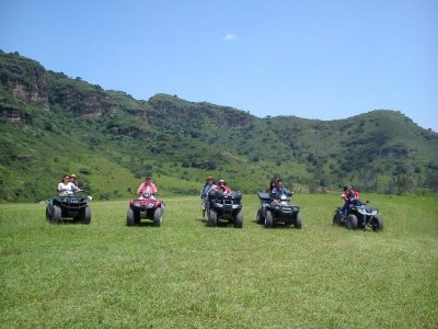 Mezcal route to Minalco in quads