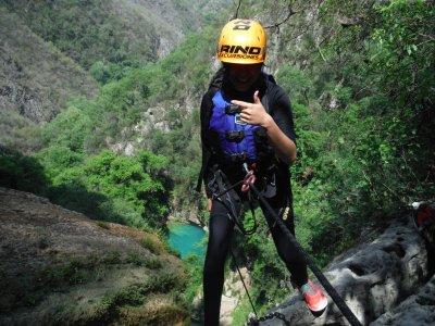 6h canyoning in Chipitin, Nuevo Leon