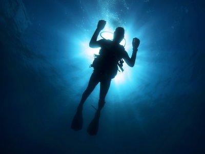 Scuba diving lessons in Naucalpan Edo, Mexico.